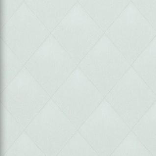 Vlies Tapete Rauten Muster creme grau Karo Caro Kariert textil jeans optik 17622