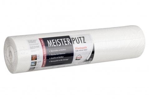 15m Rolle Uni Kratzputz Struktur Vliestapete Meister Putz Überstreichbar 3375-11 - Vorschau 4