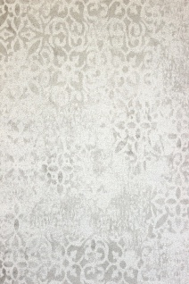 Krakelee Struktur Vliestapete creme weiß Ornamente Craquelé Toscana 642-01