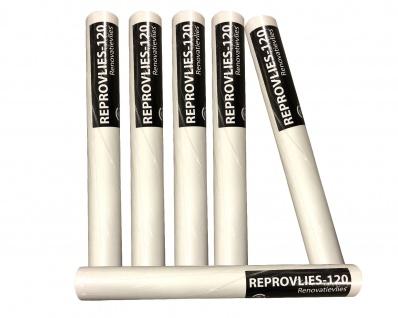 12 Rollen Renoviervlies a 10 x 0, 56m = 67, 2m² Malervlies Glattvlies 120g/m² weiß