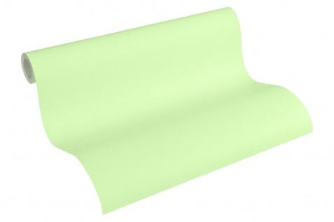 Vliestapete Kinder Uni hell grün einfarbig Little Stars 35834-3 - Vorschau 3