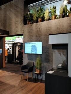Vlies Tapete Uni Beton Stein Optik dunkel grau bronze metallic ON4201 industrial - Vorschau 5