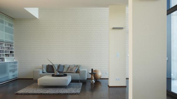 Vliestapete Uni Struktur Einfarbig creme Design by Mac Stopa 32728-8 - Vorschau 3