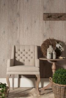 Vlies Tapete Antik Holz rustikal verwittert braun grau Natur vergraut shabby