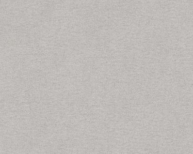 Vliestapete Uni Textil Optik Struktur grau 30486-5 Elegance - 5th Avenue