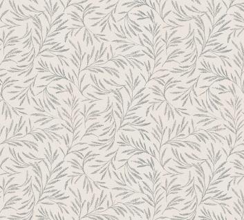 Vliestapete Blätter Zweige Äste beige grau glanz Architects Paper Alpha 33326-2