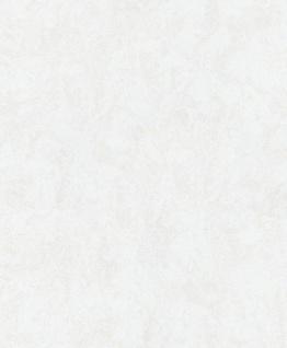 Vliestapete Carat Uni creme weiß meliert glänzend 10078-14 / 1007814