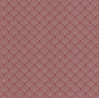 Vliestapete Fächer Motiv rot gold Glitzer metallic glitter 13707-20