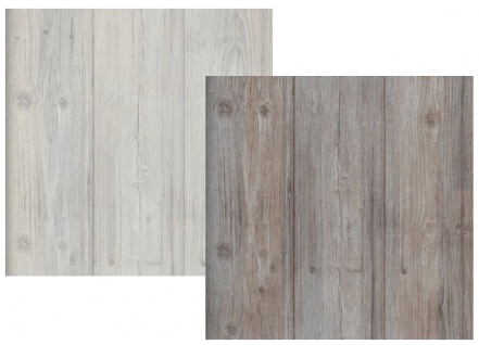 Vliestapete Antik Holz Muster rustikal grau beige / braun grau royal wood shabby - Vorschau 1