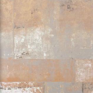 Vlies Tapete 47214 Stein Muster Bruchstein terracotta terra braun metallic mauer