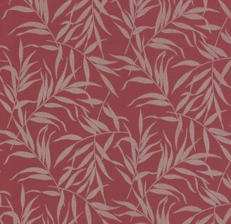 Vliestapete Blätter Floral rot gold Glitzer metallic glitter 13703-40