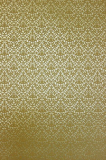 Vlies Tapete Uni gold metallic Ornament Muster 13512-20
