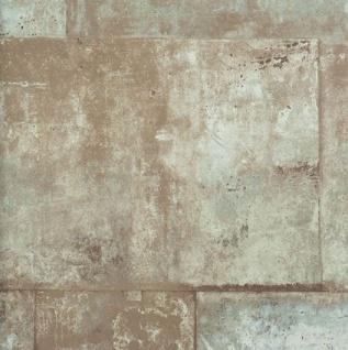Vlies Tapete 47211 Stein Muster Bruchstein braun beige metallic schimmernd mauer