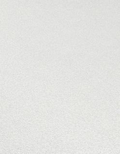Vliestapete Carat Uni weiß glänzend Glitzer 10079-01 / 1007901