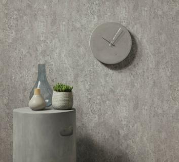 Vliestapete Beton Optik grau Betonmauer Industrial Loft Stein Wand 6321-10