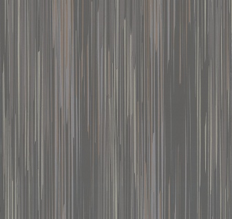 Vlies Tapete Streifen Struktur anthrazit braun glanz