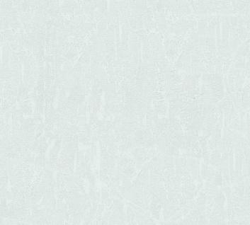 Vlies Tapete Uni Putz Struktur Spachtel Optik blau grau glanz 34502-3 Chateau 5