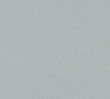 Vliestapete Uni Struktur Textil Leinen Optik graublau 36777-4 / 367774