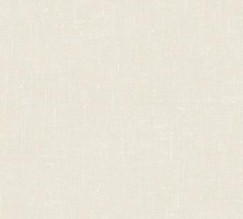 Vlies Tapete Uni Struktur Textil Optik creme beige California 36374-2