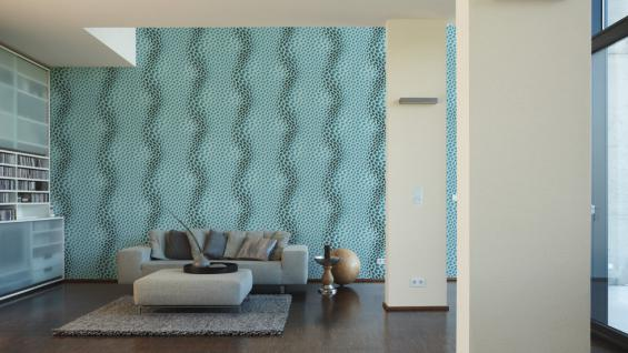 Vliestapete Uni Struktur Einfarbig creme Design by Mac Stopa 32728-8 - Vorschau 4