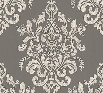 Luxus Vliestapete Barock Ornament taupe grau glanz metallic 34143-2 Hermitage - Vorschau 2