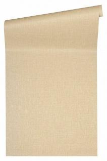 Versace 4 Luxus Uni Struktur Vlies Tapete beige metallic 962332