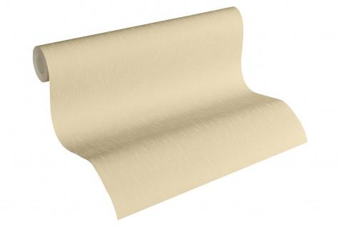 Luxus Vliestapete Uni creme beige 34276-9 Hermitage einfarbig