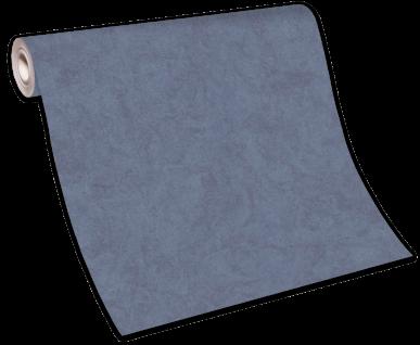 Vliestapete Carat Uni blau meliert glänzend 10078-44 / 1007844 - Vorschau 5