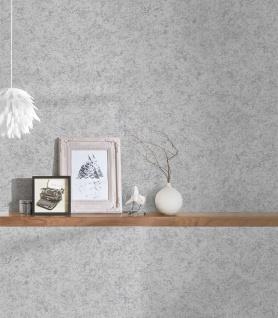 Vlies Tapete Beton Stein Optik grau silber metallic Concrete 3777-22