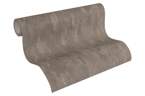 Vlies Tapete Stein Wand Beton Optik struktur braun 30694-6