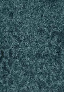Krakelee Struktur Vliestapete petrol blau Ornamente Craquelé Toscana 642-05 - Vorschau 3