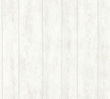 Vliestapete Holz Optik Antik Struktur Paneele grau weiß verwittert Boho 36460-3