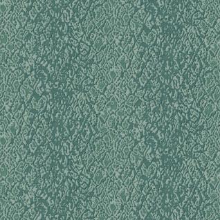 Design ID Vliestapete Textile Struktur Streifen petrol blau metallic DE120127