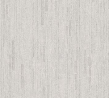 Vliestapete Uni Streifen Struktur grau metallic glitzer effekt 31850-1