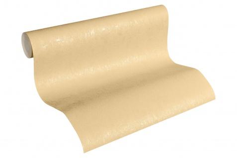Vliestapete Uni Struktur glanz beige 33544-4 Hermitage einfarbig