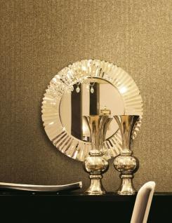 Hochwertige Vlies Tapete gold uni Struktur metallic design AL1008-4