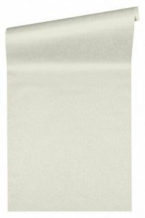 Versace 4 Design Luxus Uni Vlies Tapete weiß metallic 935822