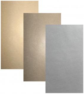 Vlies Tapete Leder Optik uni Struktur beige braun grau leather wallpaper