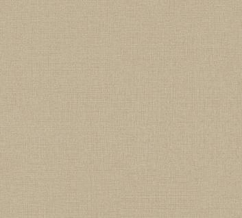 Vliestapete Uni Struktur Textil Leinen Optik beige braun 36776-7 / 367767