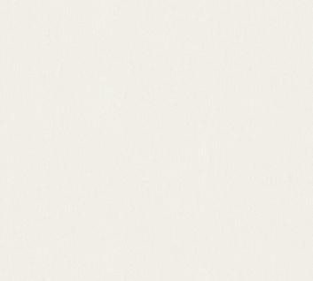 Vlies Tapete Uni Struktur Muster weiß glanz 34503-7 Chateau 5