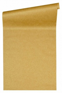Versace 4 Design Luxus Uni Vlies Tapete gelb gold meliert metallic 935913
