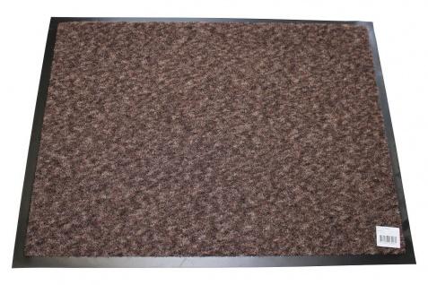 Fußmatte Discovery taupe braun 60 x 80 cm Schmutzfangmatte Sauberlaufmatte