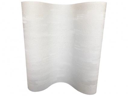 Vliestapete Uni Struktur Glitzer Effekt glänzend creme weiß MO1019 Grandeco