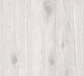 Vlies Tapete Antik Holz rustikal verwittert weißgrau Natur vergraut grauschleier