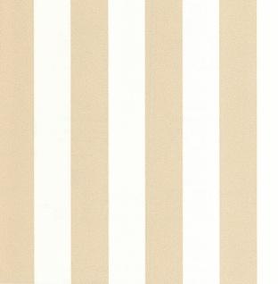 Vliestapete Streifen weiß gold Glitzer metallic 13700-50 gestreift glitter
