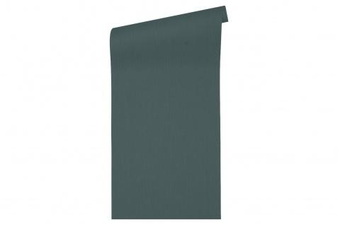 Vlies Tapete Uni Struktur petrol blau hochwertig Architects Paper Alpha 33370-1 - Vorschau 2