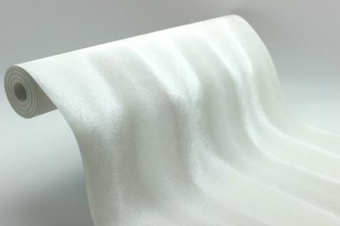 Vlies Tapete Design Pelz Optik weiß metallic glanz effekt elegant Graham & Brown