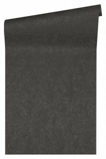 Versace 4 Design Luxus Uni Vlies Tapete anthrazit schwarz metallic 370503