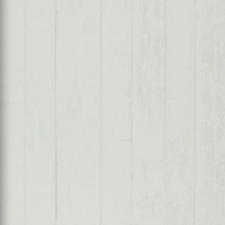 Vlies Tapete Antik Holz rustikal edel weiss / weiß Bretter royal wood landhaus