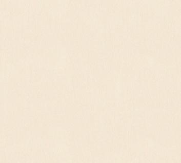 Vlies Tapete Uni Struktur Muster creme glanz 34507-2 Chateau 5